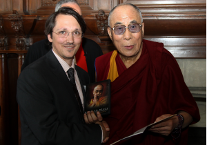 Leon Stuparich and the Dalai Lama